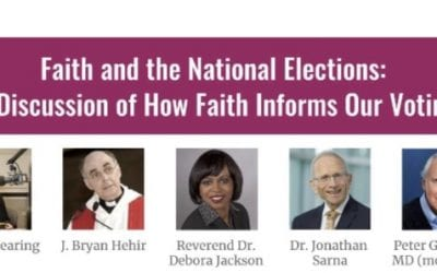 Faith and the National Election