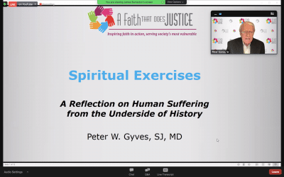 The Spiritual Exercises: A Reflection on Human Suffering from the Underside of History